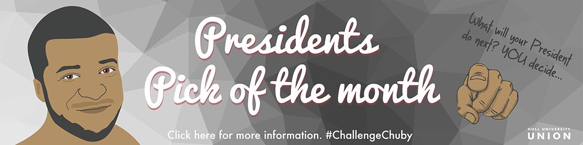 Pres Pick of the Month - #ChallengeChuby